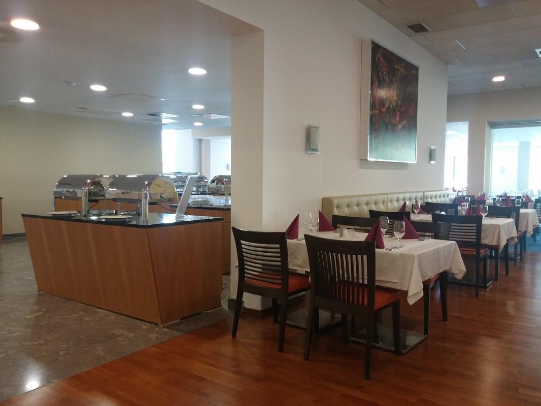 Hotelska restavracija.