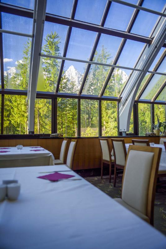 Pogled iz restavracije