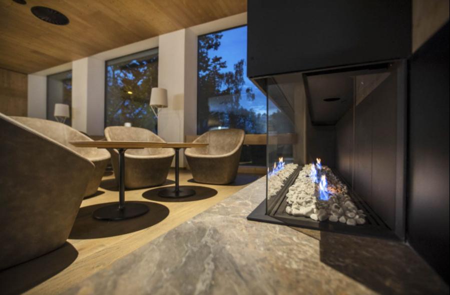 Prostor za počitek oziroma lounge predel.