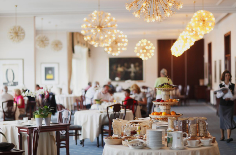 Restavracija Grand Hotela Toplice
