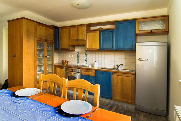 Apartmajska kuhinja