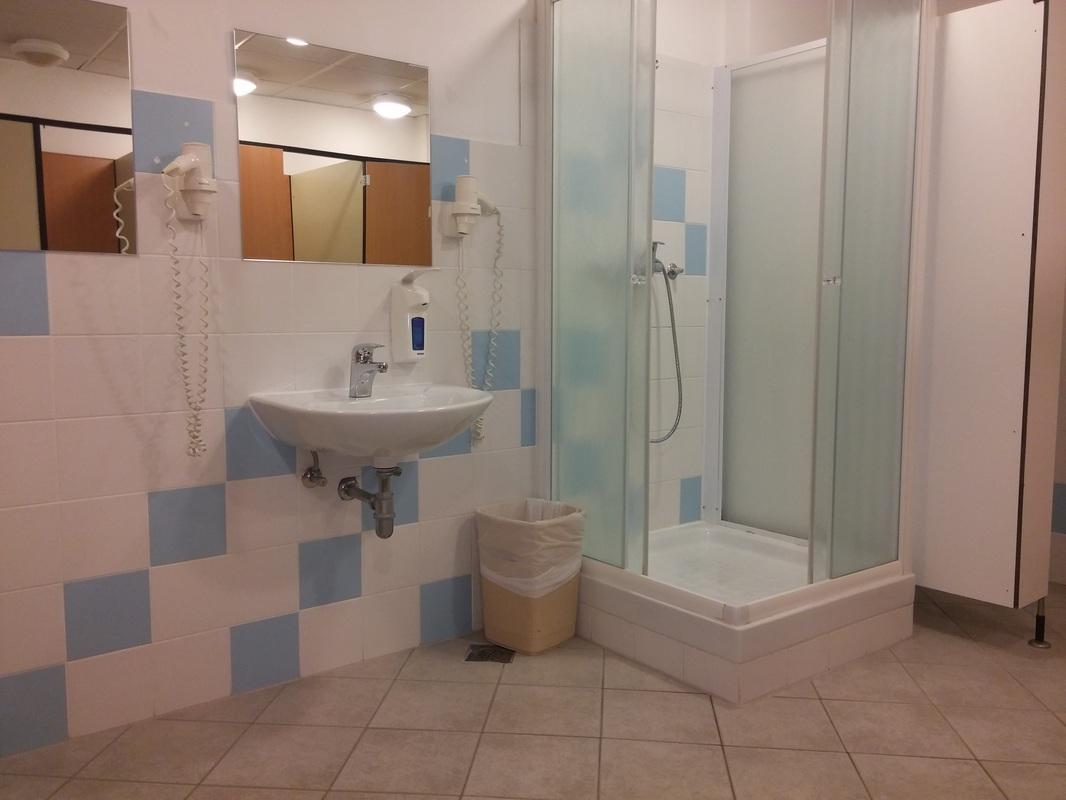 Splošne sanitarije v Aqua Larixu niso prilagojene