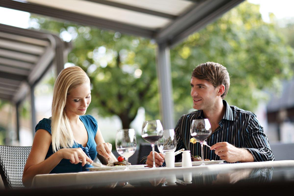 Kavarna Park je tudi prostor za kosila in večerje