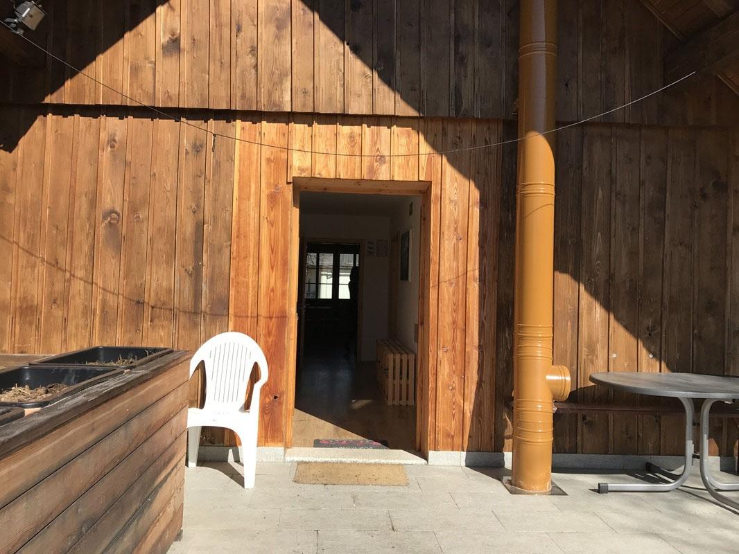 Vhod v družinski apartma