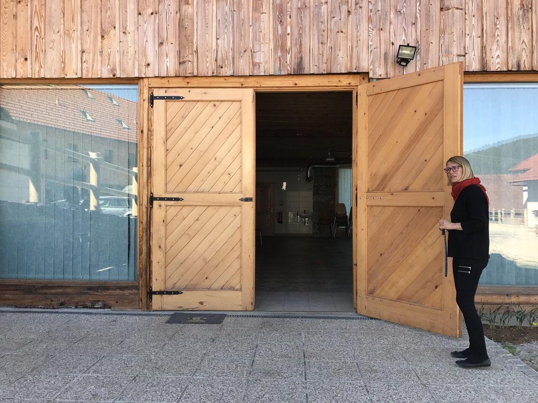 Vhod v prostor za najem