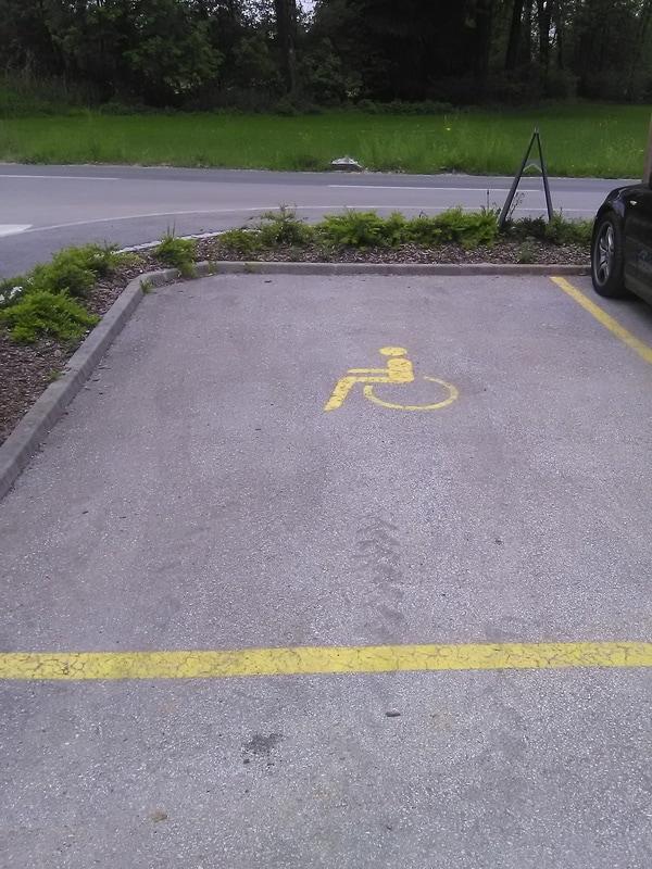 Označeno parkirišče