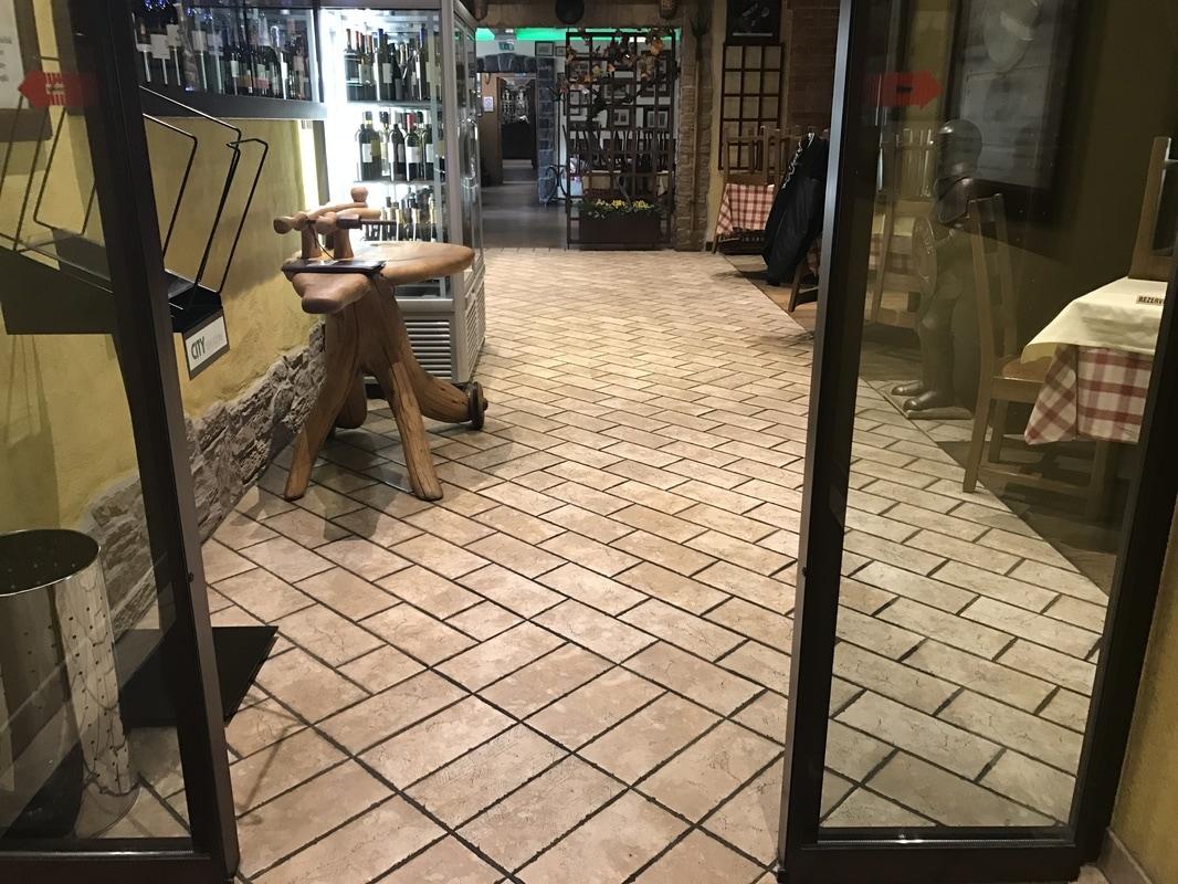 Vhod v restavracijo