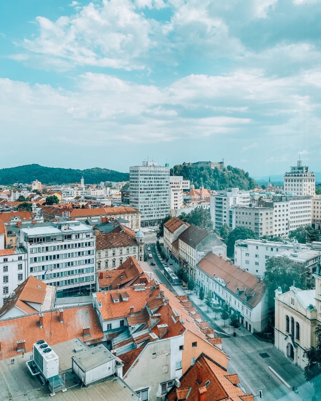 Razgled na mesto Ljubljana