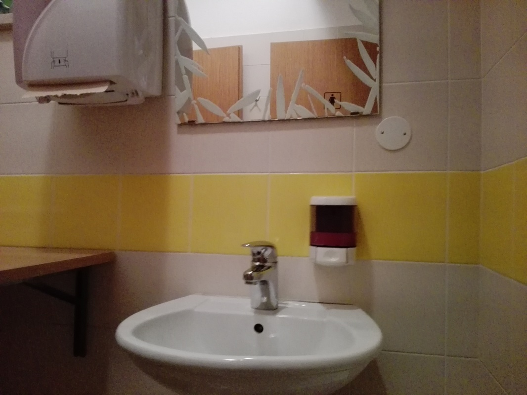Notranjost sanitarij
