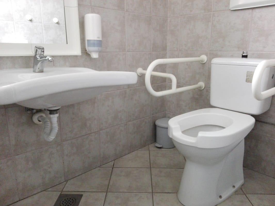 Ene izmed prilagojenih sanitarij