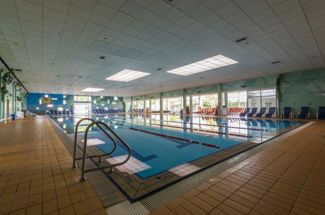 Eden izmed bazenov