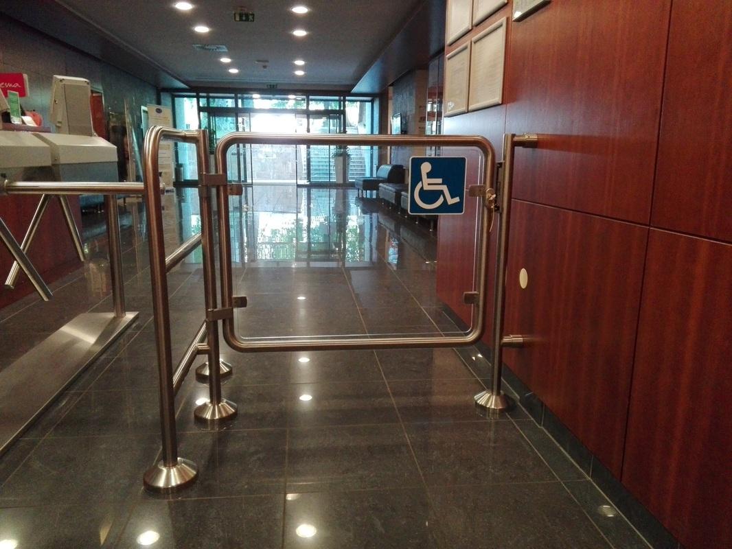 Vhod za gibalno ovirane