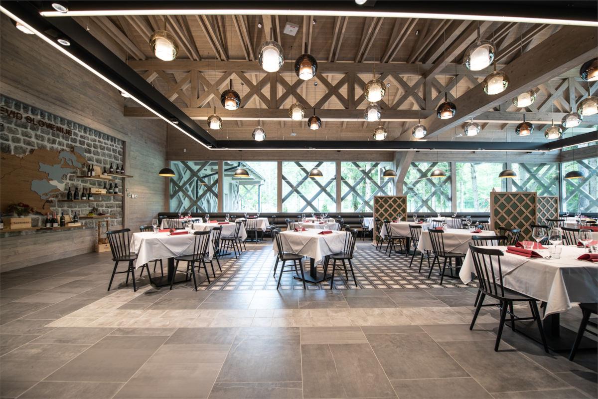 Notranji del restavracije