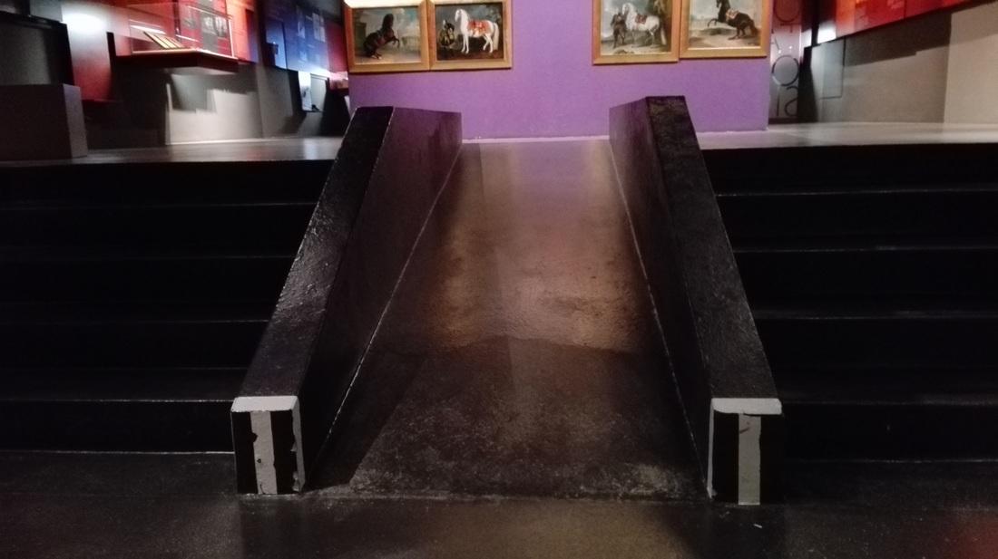 Klančina v muzeju