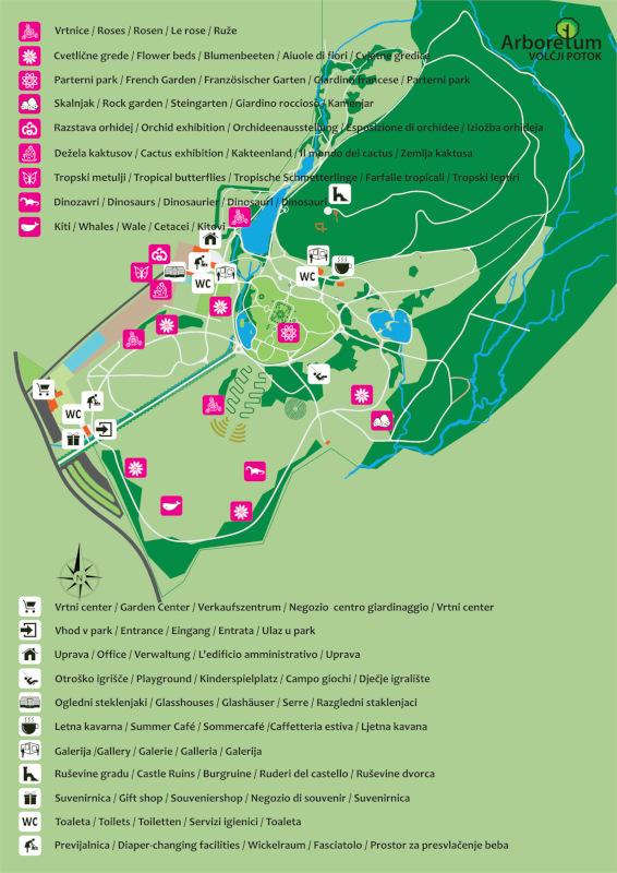 Zemljevid parka