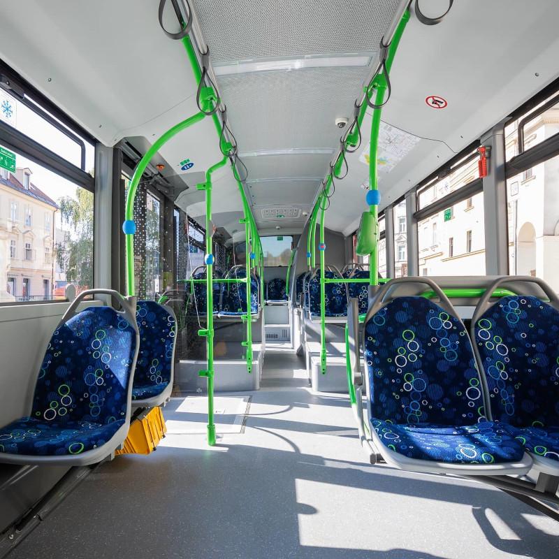 Notranjost avtobusa