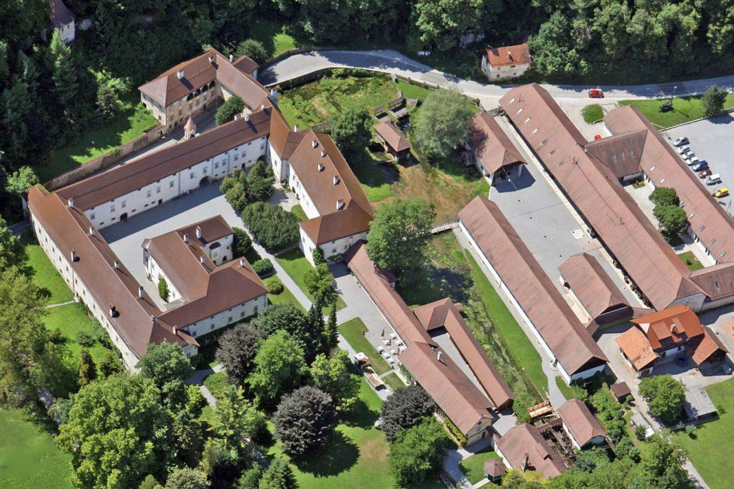 Tehniški muzej Slovenije iz zraka