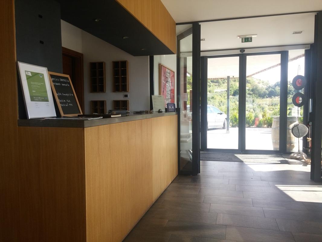Vhod in recepcija