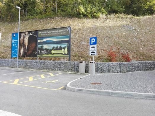 Spodnje parkirišče
