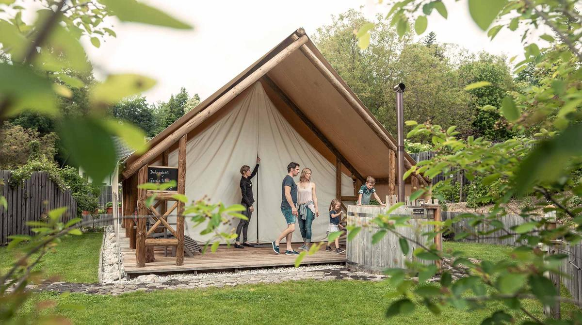 Glamping šotor