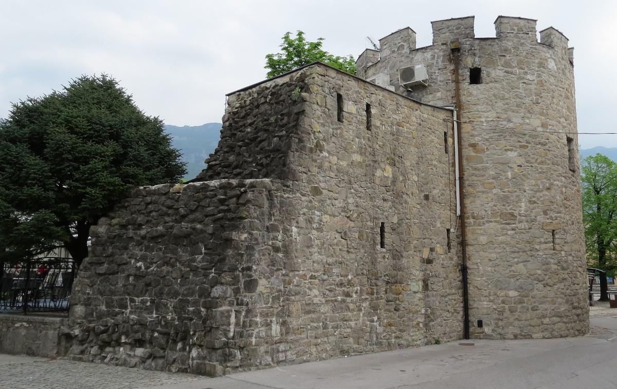 Ostanki rimskega obzidja