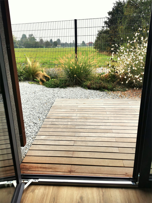 Prehod na teraso brez ovir