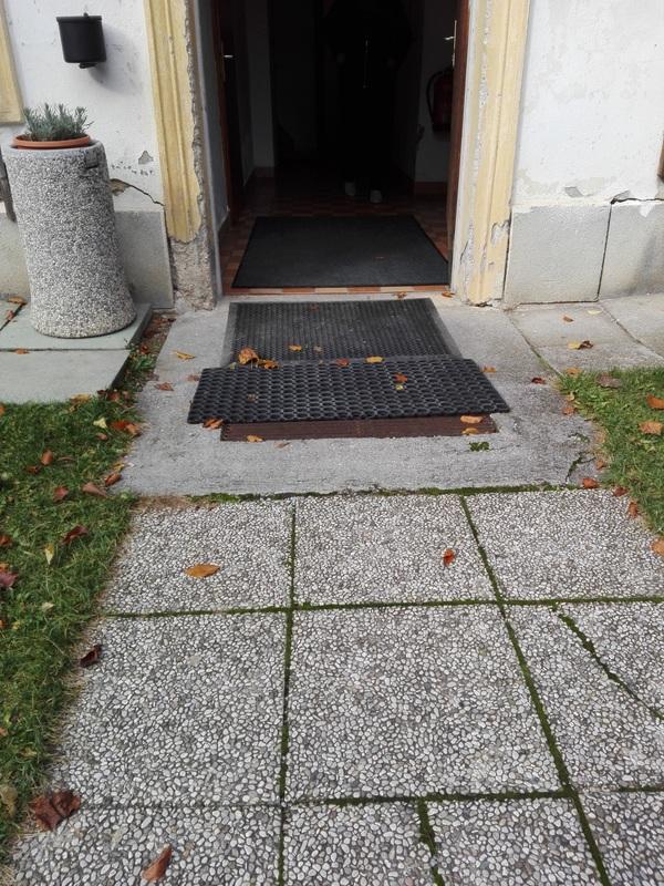 Prehod do drugega wc-ja