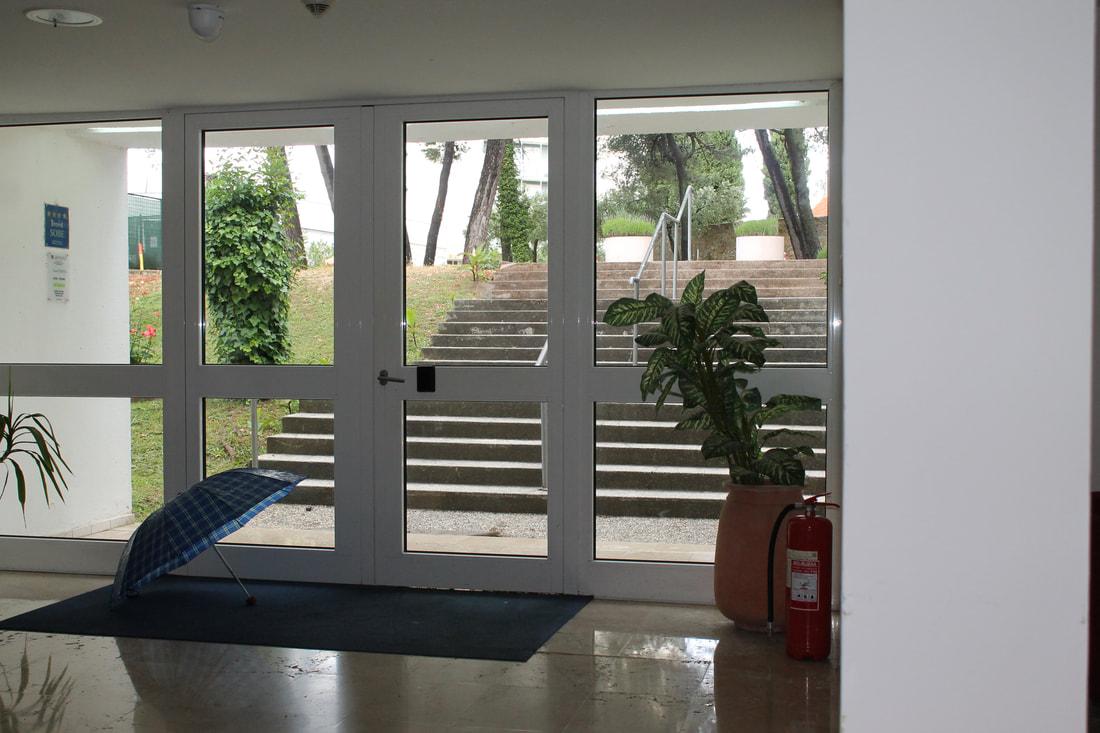 Vhod v Vilo Arauso