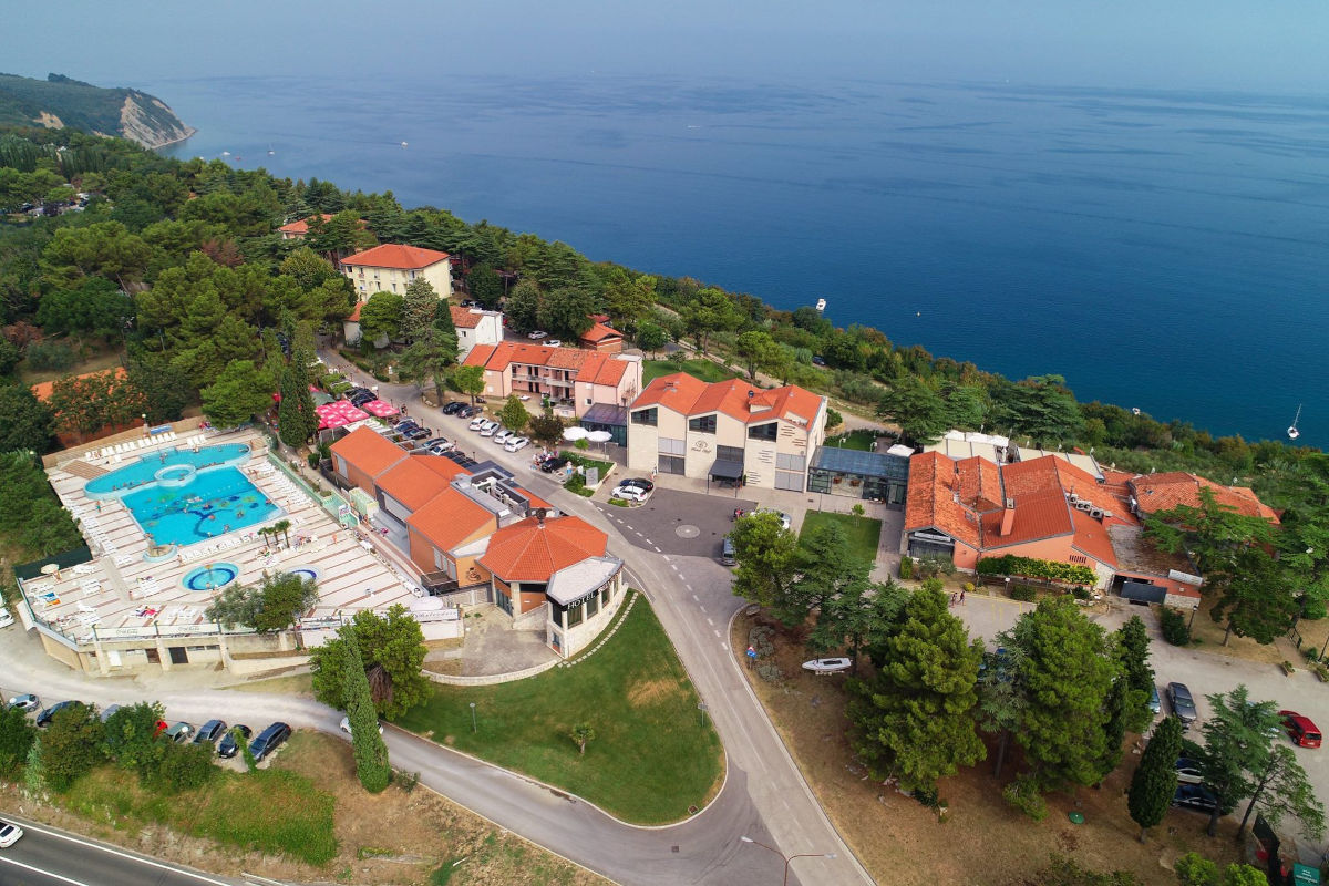 Belvedere hoteli Izola