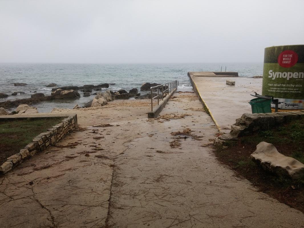 Bližja plaža z dostopom v morje