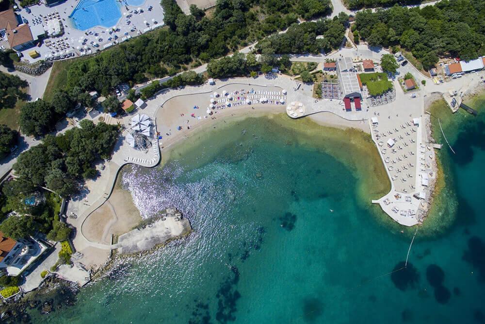 Plaža Copacabana v Dubrovniku
