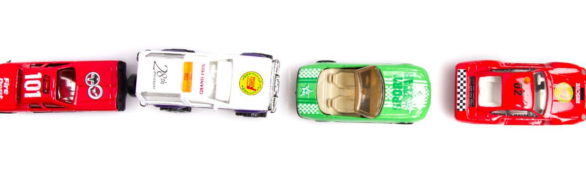 V vrsto urejeni avtomobili