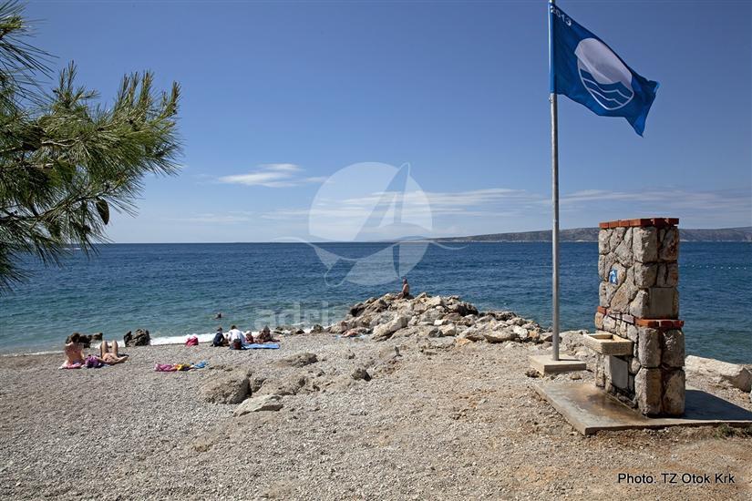 Plaža je prejemnica modre zastave