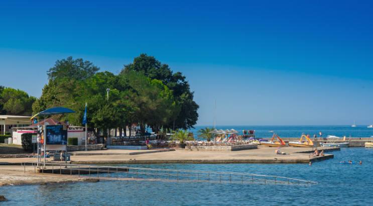 Plaža Canova v Umagu