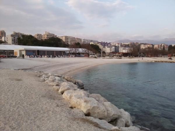 Nedostopni del plaže