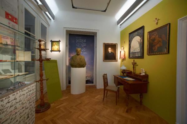 Spominska soba Franca Ksaverja Meška