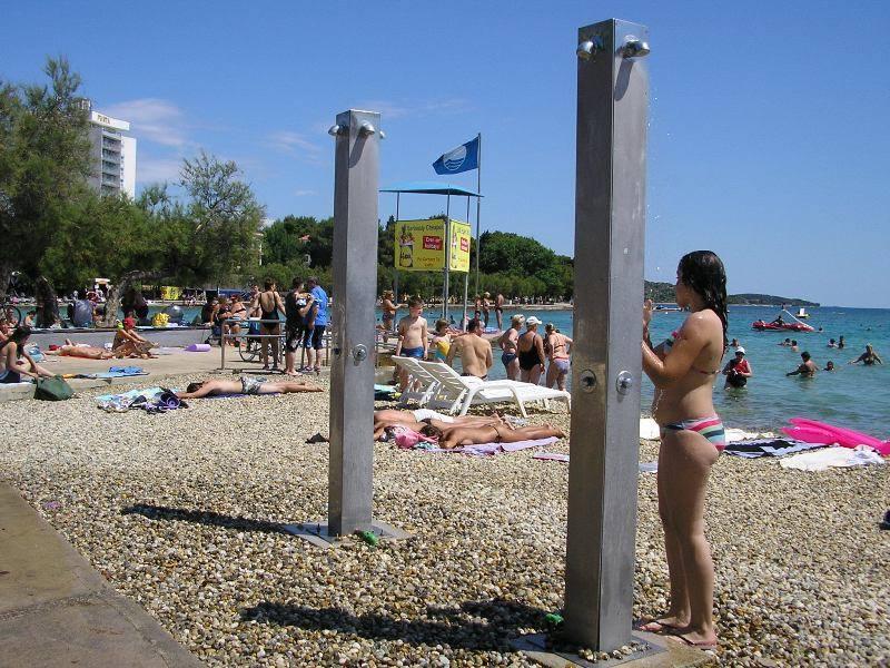 Tuš na plaži