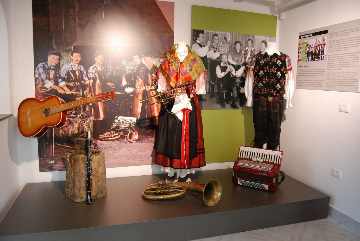Muzejska zbirka o ansamblu Štirje kovači