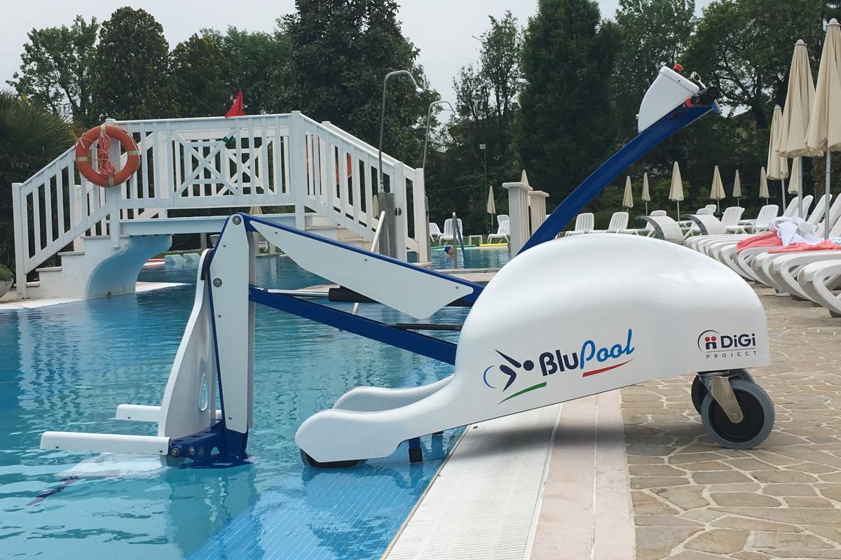 Bazensko dvigalo Blu pool