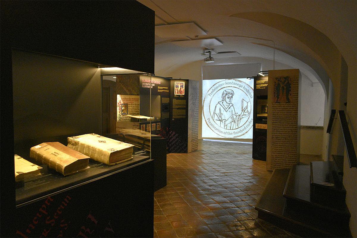 Ena izmed razstavnih dvoran muzeja