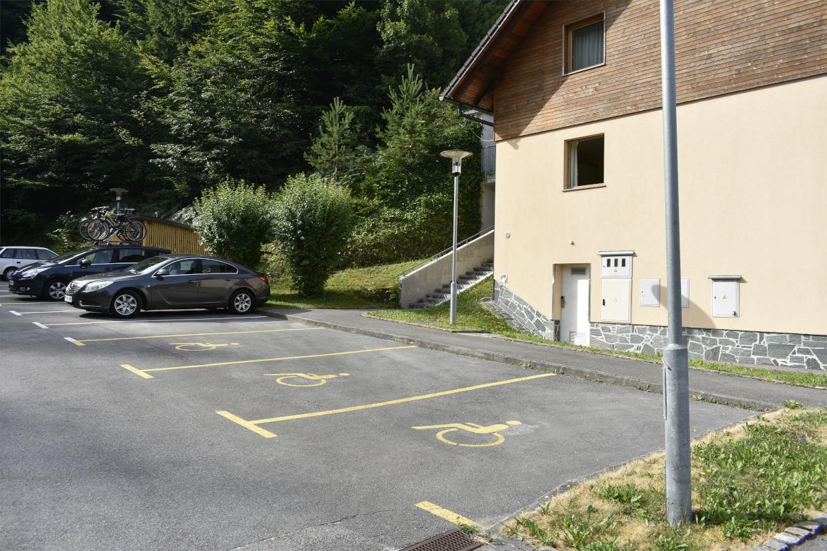 Invalidska parkirišča