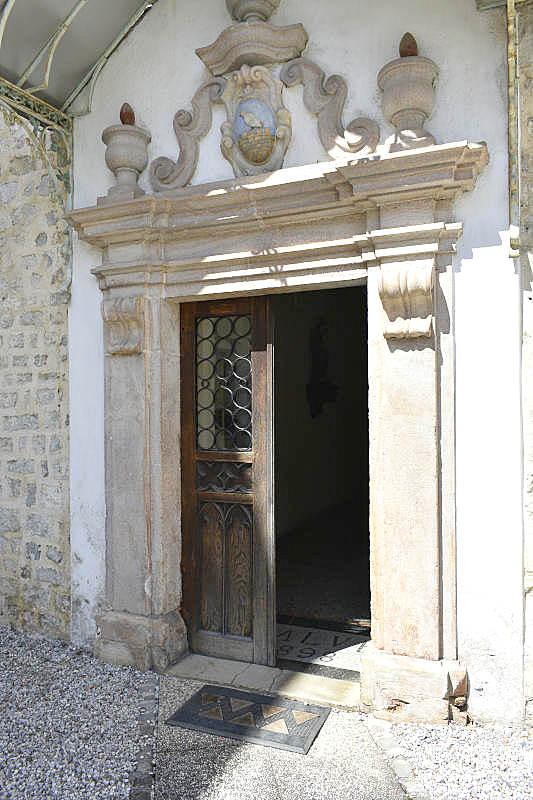 Vhod v križni hodnik