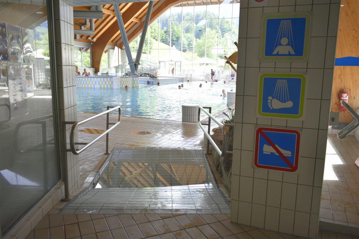 Prehod na notranji bazen
