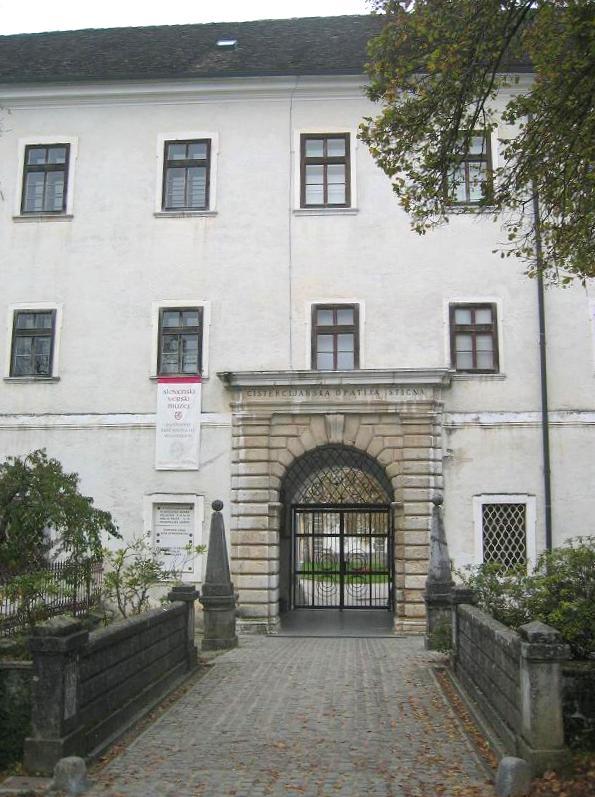 Nekdanji vhod v samostan