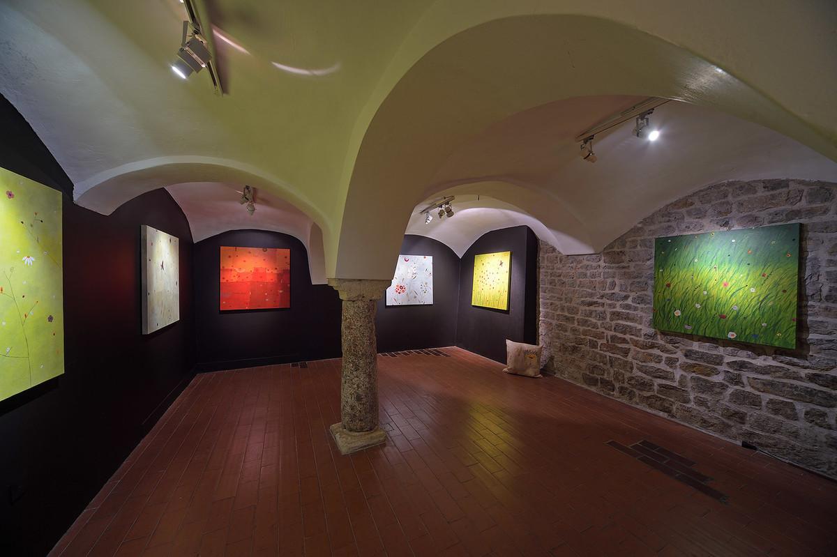 Notranjost galerije