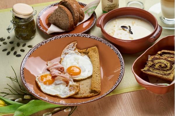 Ponudba zajtrka