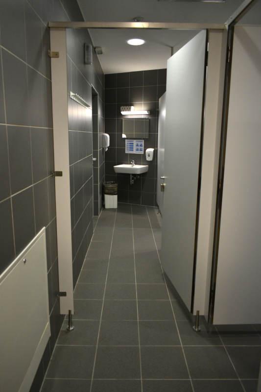 Prehod do prilagojenih sanitarij